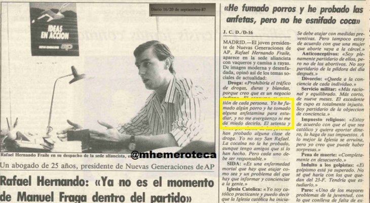 El pasado de Rafa Hernando más turbio