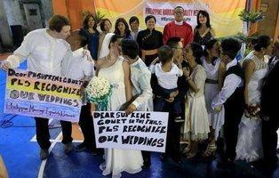 Filipinas y la excepción: su Iglesia oficia bodas gays, ilegales para su Gobierno