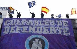 La policía desaloja a los neonazis de Hogar Social Madrid