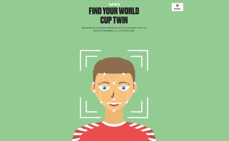 La app consigue averiguar tu parecido con uno de los jugadores del Mundial de Rusia 2018 en cuestión de segundos