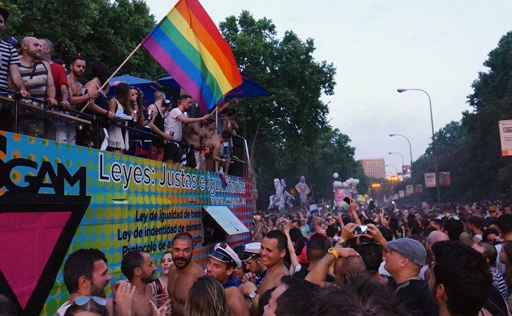 Manifestación y desfile del Orgullo LGTBI de Madrid