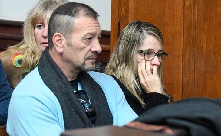 Padres de Nahir durante el juicio