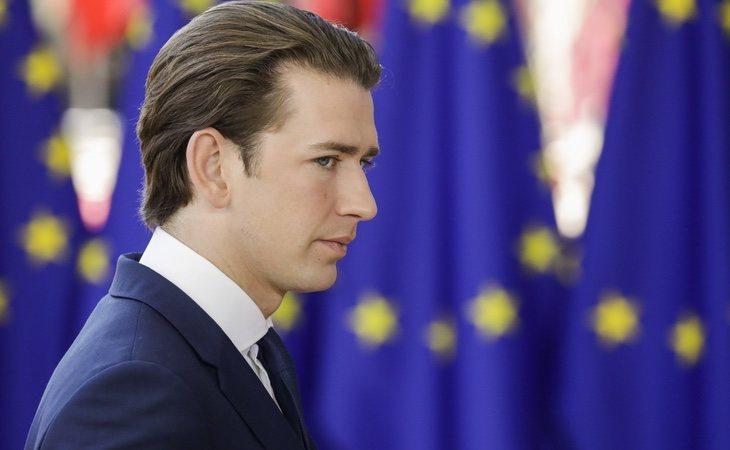 El canciller austriaco, uno de los principales políticos antiinmigración de Europa
