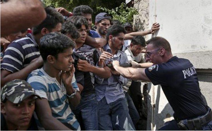 La llegada masiva de refugiados tuvo una dura respuesta por parte de los estados europeos