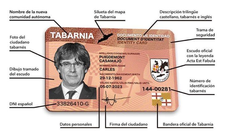Para ejemplificar el DTI han utilizado la imagen de Carles Puigdemont