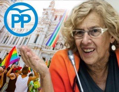"""Carmena """"lamenta"""" y """"deplora"""" el veto al Partido Popular en el Orgullo LGTBI"""