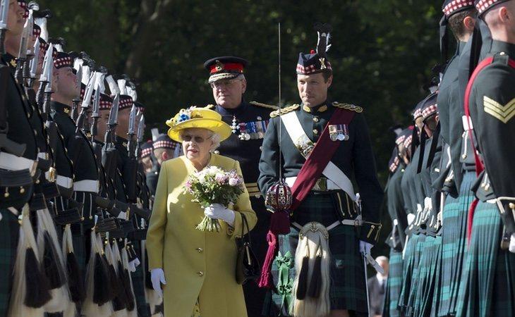 La Reina tiene que hacer frente a numerosos actos cada día