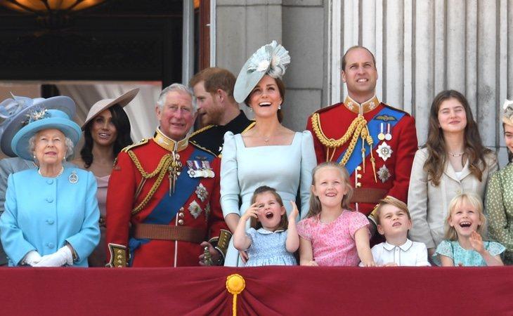 En los últimos años, la reina ha cedido parte de su protagonismo a Guillermo y Kate