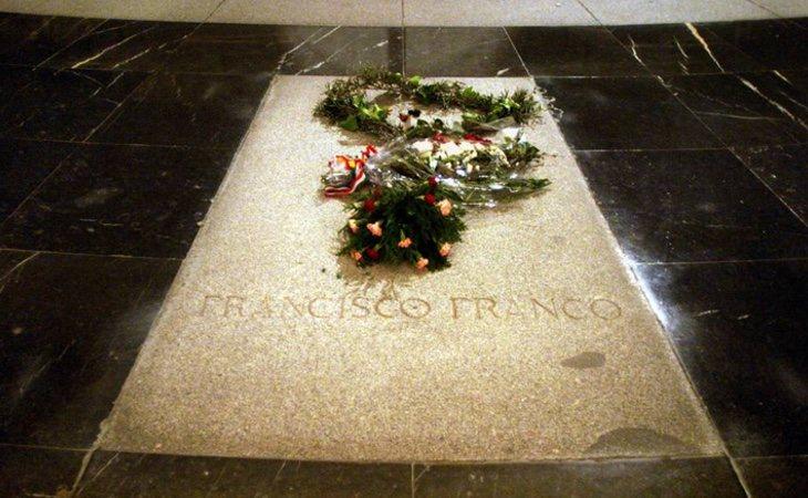 Los restos de Franco han permanecido más de 40 años en el Valle a pesar de no haber caído en la Guerra Civil