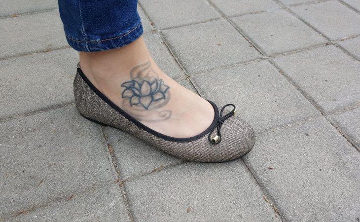 El tatuaje que impidió acceder al ejército a Estela Martín