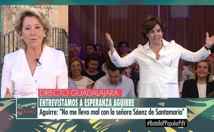 Aguirre no se corta y se decanta por Casado
