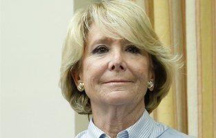 Esperanza Aguirre pide trabajo en Telecinco como tertuliana tras mostrar su apoyo a Casado