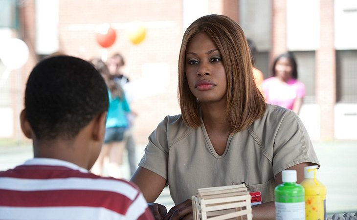 Laverne Cox interpreta a una mujer transexual en 'Orange Is The New Black'