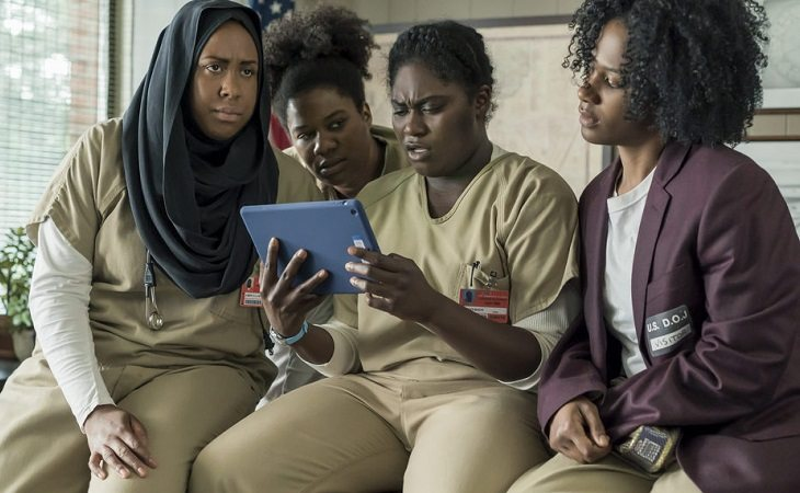 Uno de los grupos formados en la cárcel de 'Orange Is The New Black'
