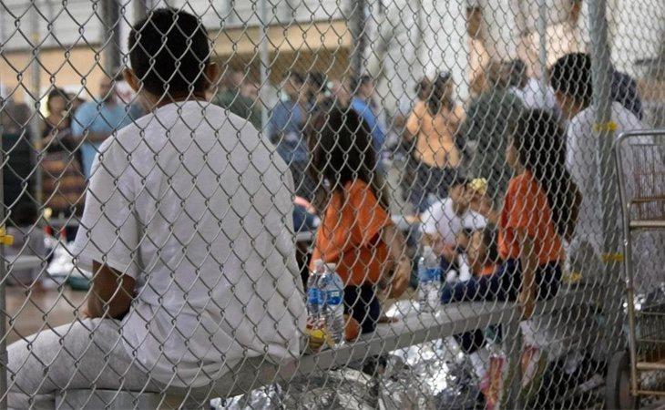 Menores separados de sus familias por las autoridades estadounidenses