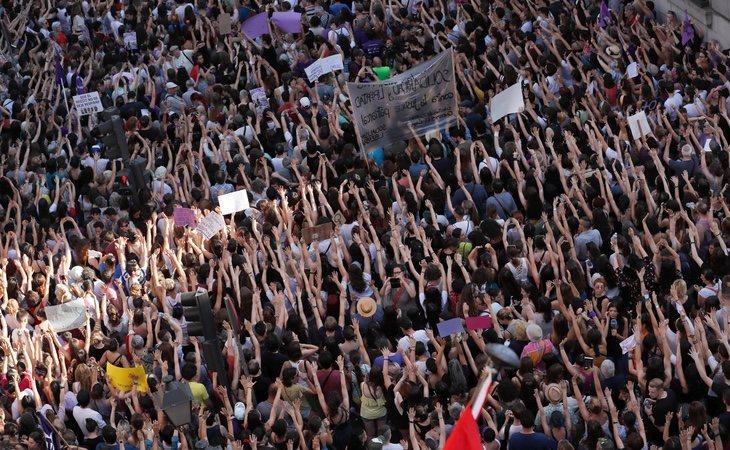 Concentrarión en Madrid por la sentencia de 'La Manada'