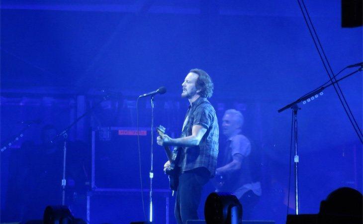 Actuación de Pearl Jam el viernes en el Mad Cool, Madrid
