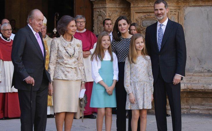 última aparición de la Familia Real al completo