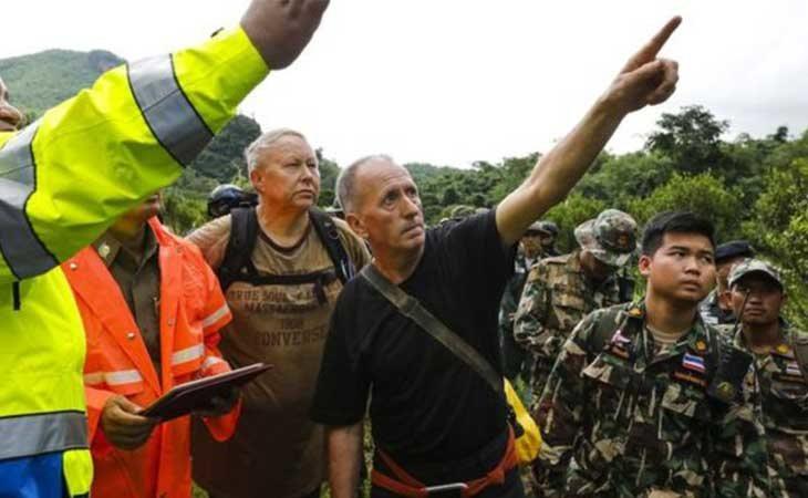 Vernin en el rescate en Tailandia