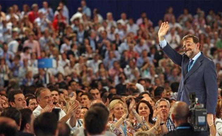 Rajoy eliminó a los sectores más conservadores tras consolidarse en el Congreso de Valencia de 2008
