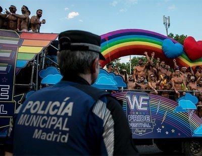 Masiva baja laboral: más de 200 agentes de Policía Municipal de Madrid evitaron actuar en el Orgullo
