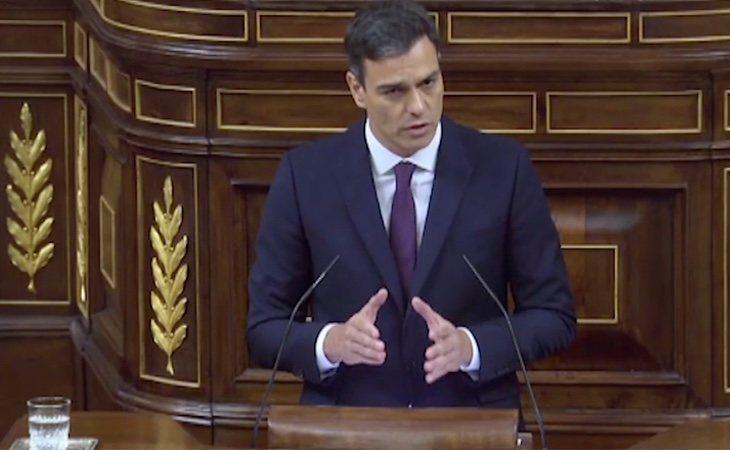 Pedro Sánchez anuncia la exhumación del Franco del Valle de los Caídos