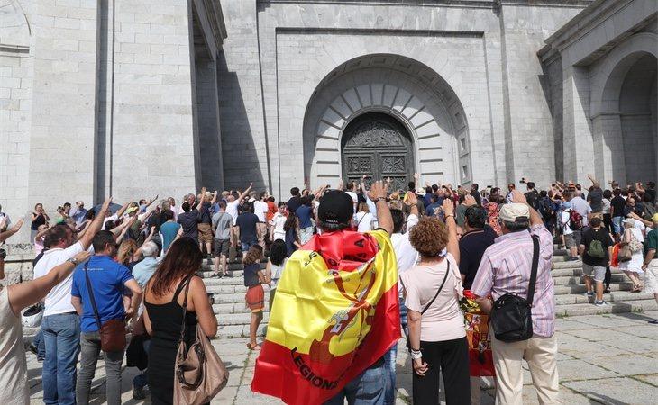 La Fundación Franco organizó una jornada en el Valle de los Caídos contra la exhumación del cuerpo del dictador