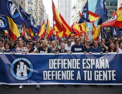 El grupo neonazi Hogar Social Madrid okupa un nuevo inmueble