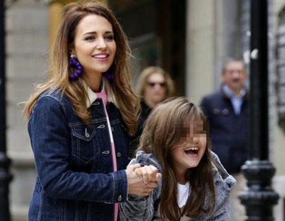 Paula Echevarría utiliza a su hija de 9 años como reclamo publicitario en Instagram