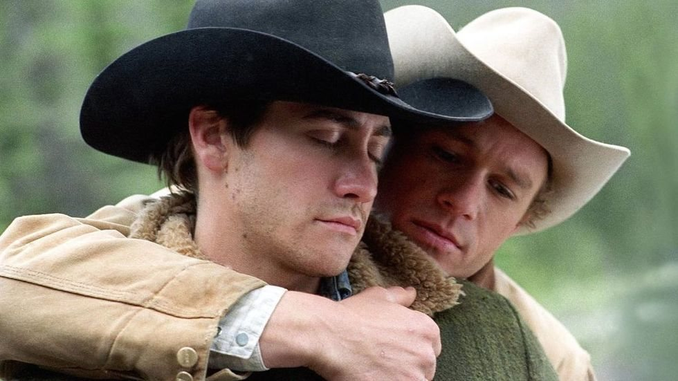 Heath Leager y Jake Gylenhall en 'Brokeback Mountain'