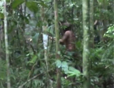 Graban al último superviviente de una tribu del Amazonas brasileño