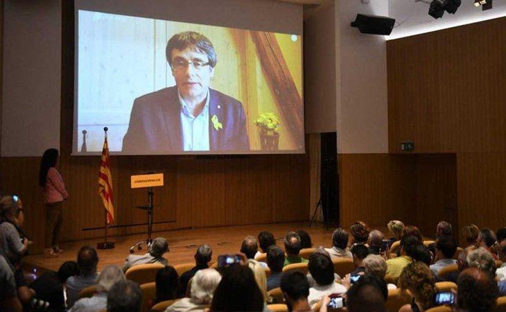 La Crida Nacional de Puigdemont se impone al PDeCAT