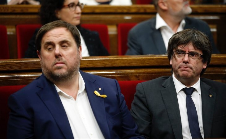 Puigdemont y Junqueras mantienen una relación especialmente deteriorada