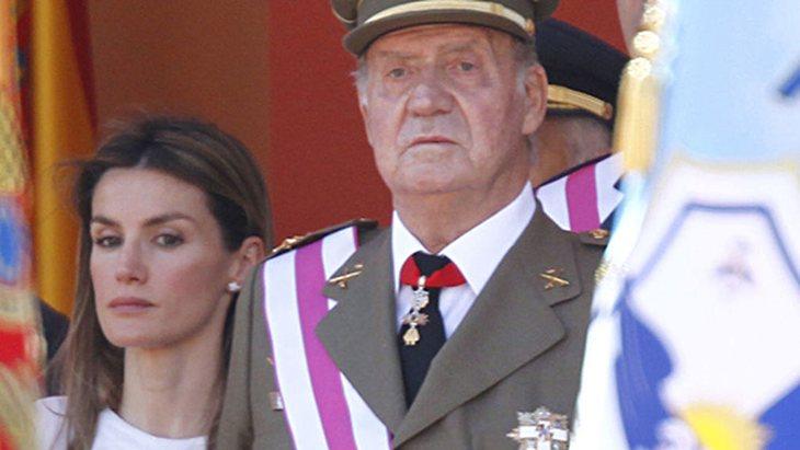 La relación entre Letizia y Juan Carlos es tensa desde el principio