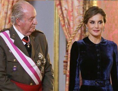 Letizia ajusta cuentas con el Rey Juan Carlos