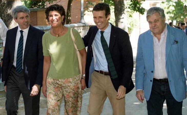 Pablo Casado ha conseguido recuperar a históricos del partido como María San Gil
