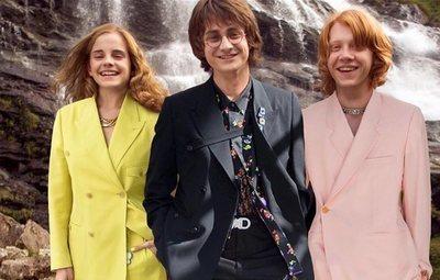 Los personajes de Harry Potter se visten de Dior en sus escenas más míticas