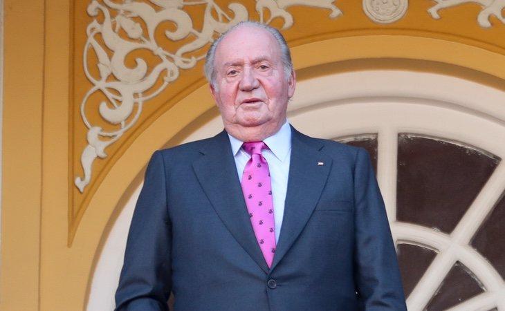 Juan Carlos I en una de sus últimas apariciones públicas