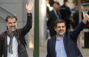 Piden el Premio Nobel de la Paz para los Jordis por apoyar 'la revolución de las sonrisas'
