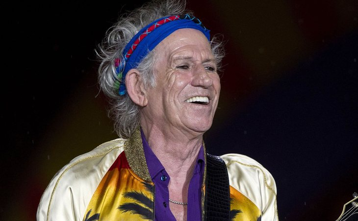 Keith Richards, mítico de The Rolling Stomes