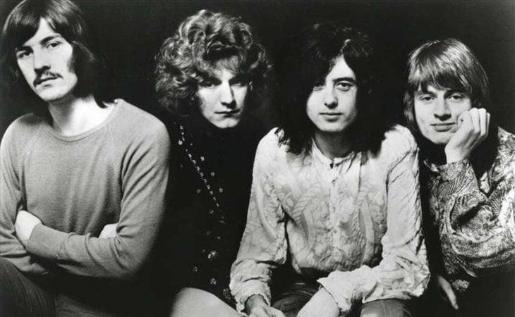 Led Zeppelin, grupo británico de hard rock