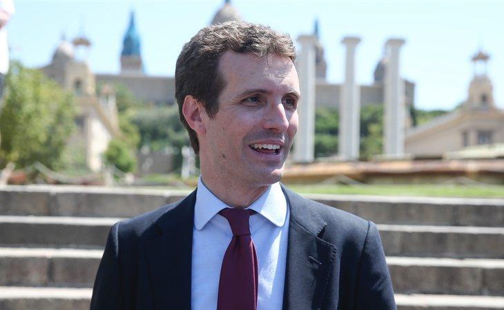 Pablo Casado en el Comité ejecutivo del PP