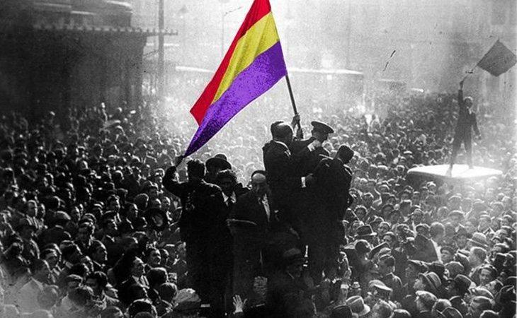 Proclamación de la II República en la Puerta del Sol