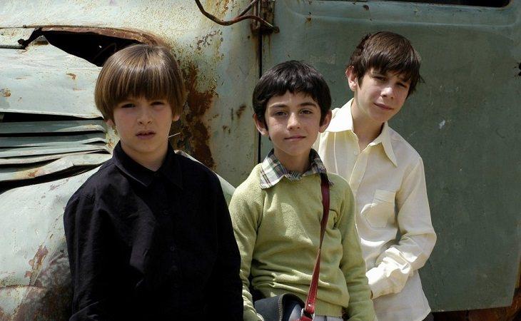 Carlitos, Luis y Josete en las primeras temporadas de 'Cuéntame'