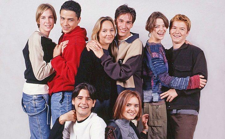 El grupo de amigos de 'Compañeros'