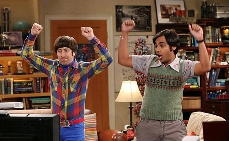 Howard y Raj son esa clase de amigos que pasan todo el día juntos