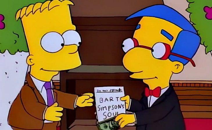 Bart y Milhouse siempre serán ejemplo de una gran amistad