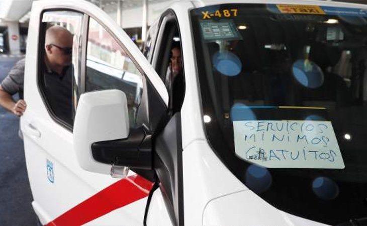 Los taxistas pretenden que se apruebe solo una licencia de VTC por cada 30 de taxi