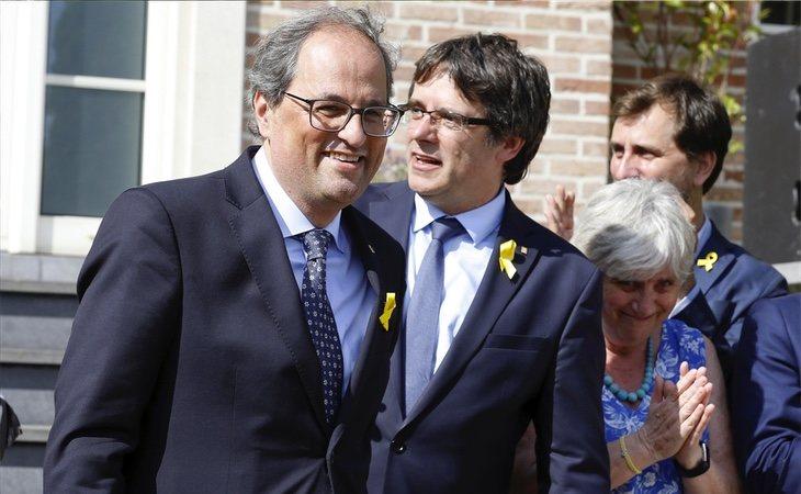 Quim Torra disfrutará de un salario más alto que el que percibió su antecesor en el cargo, Carles Puigdemont