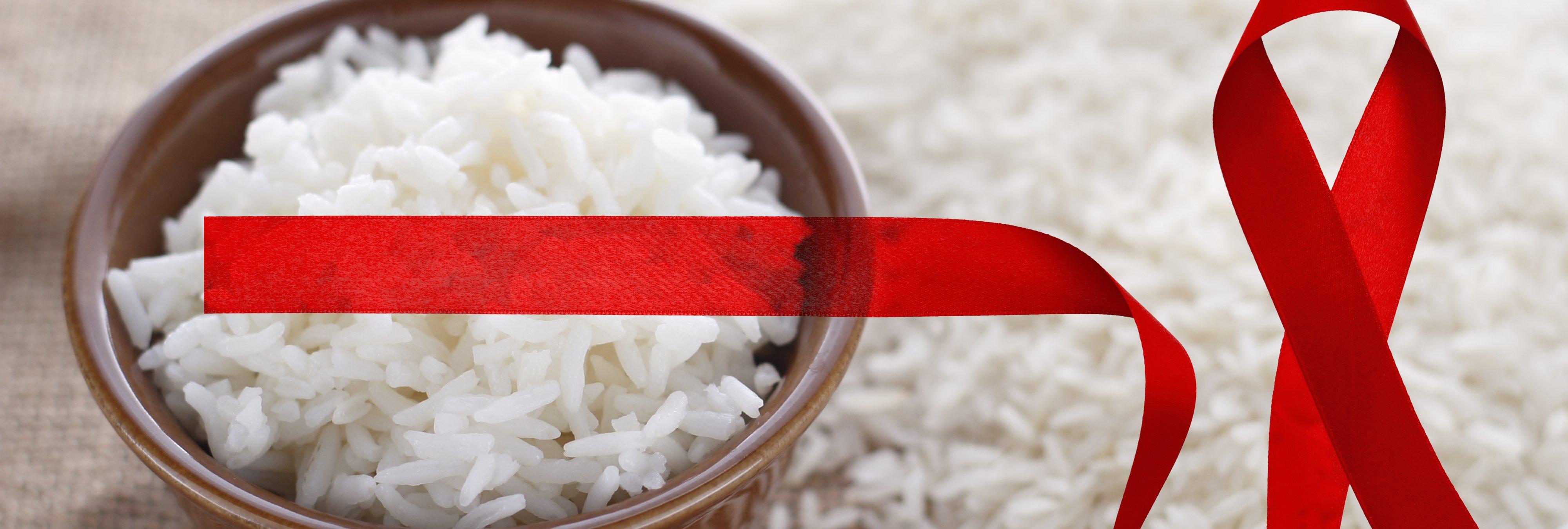El arroz transgénico, clave para combatir el VIH